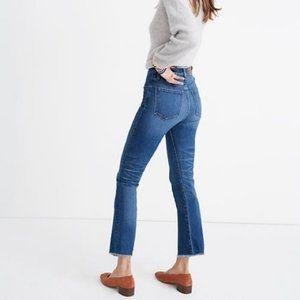 Madewell High Rise Cali Demi-Boot Crop Jeans